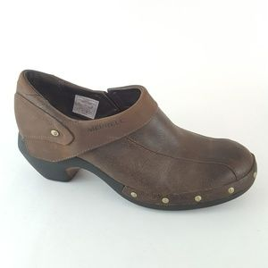 MERRELL Luxe Espresso Brown Oiled Leather 6.5M